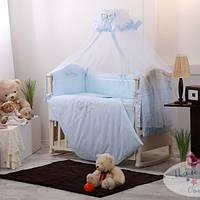 Сменный детский комплект постельного белья Golden Baby цвет голубой
