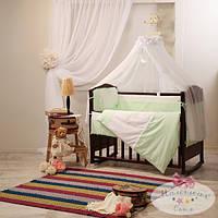Сменный детский комплект постельного белья Darling цвет зеленый