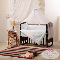 Сменный детский комплект постельного белья Darling цвет голубой