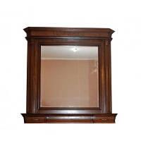 Спальня Колизей ЮрВит (комплект) зеркало с надстройкой