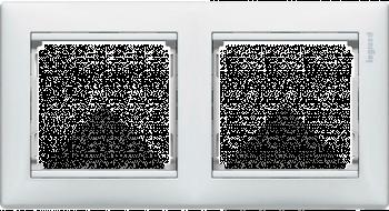 Рамка 2 поста Legrand Valena Белая (774452)