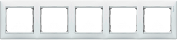 Рамка 5 постов Legrand Valena Белый (774455)