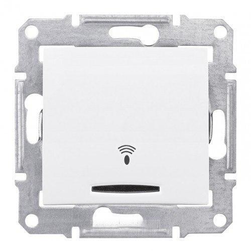 Кнопка Звонок с подсветкой Schneider Electric Sedna 10А Белый SDN1600421