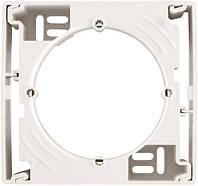 Коробка для наружного монтажа одиночная Schneider Electric Sedna Слоновая кость SDN6100123
