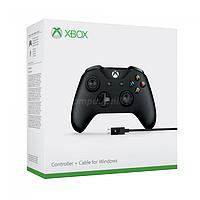 Джойстик игровой геймпад для ПК проводной Xbox Controller + Cable for Windows