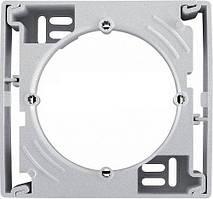Коробка для наружного монтажа одиночная Schneider Electric Sedna Алюминий SDN6100160