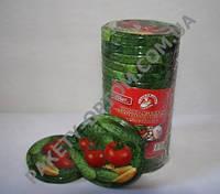 """Крышка  """"Слобожанка"""", тип """"твист-офф"""" 82 мм, 20 шт (рис.-овощи)"""