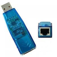 USB LAN сетевая карта ETHERNET 10/100 RJ45 адаптер