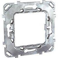 Суппорт для механизма 2 модуля Schneider Electric Unica металлический MGU7.002