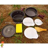 Набор туристической посуды 7 в 1 Milicamp AL-200