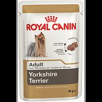 Royal Canin Yorkshire Terrier (паштет) Консервированный корм для взрослых собак 85 г