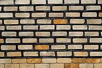 "Фасадно-стеновой песчаник ""Замок Фараонов"" KLVIV 3х10 см. 0,5 м.кв, фото 1"