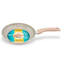 Сковородка с мраморным покрытием, стальная сковородка 20 см (Marble frypan)