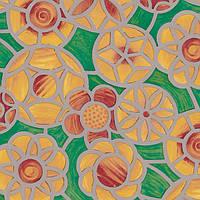 Самоклейка, d-c-fix, 45 cm, цветы, витраж, на стекло,  Пленка самоклеящаяся, цветная, chartres