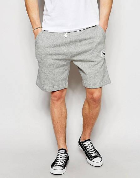 Серые мужские шорты Converse
