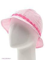 Дитяча панамка для дівчинки рожева зі стразами, 52 см