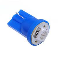 Светодиод T10-1LED-5050SMD-12V Синий цвет