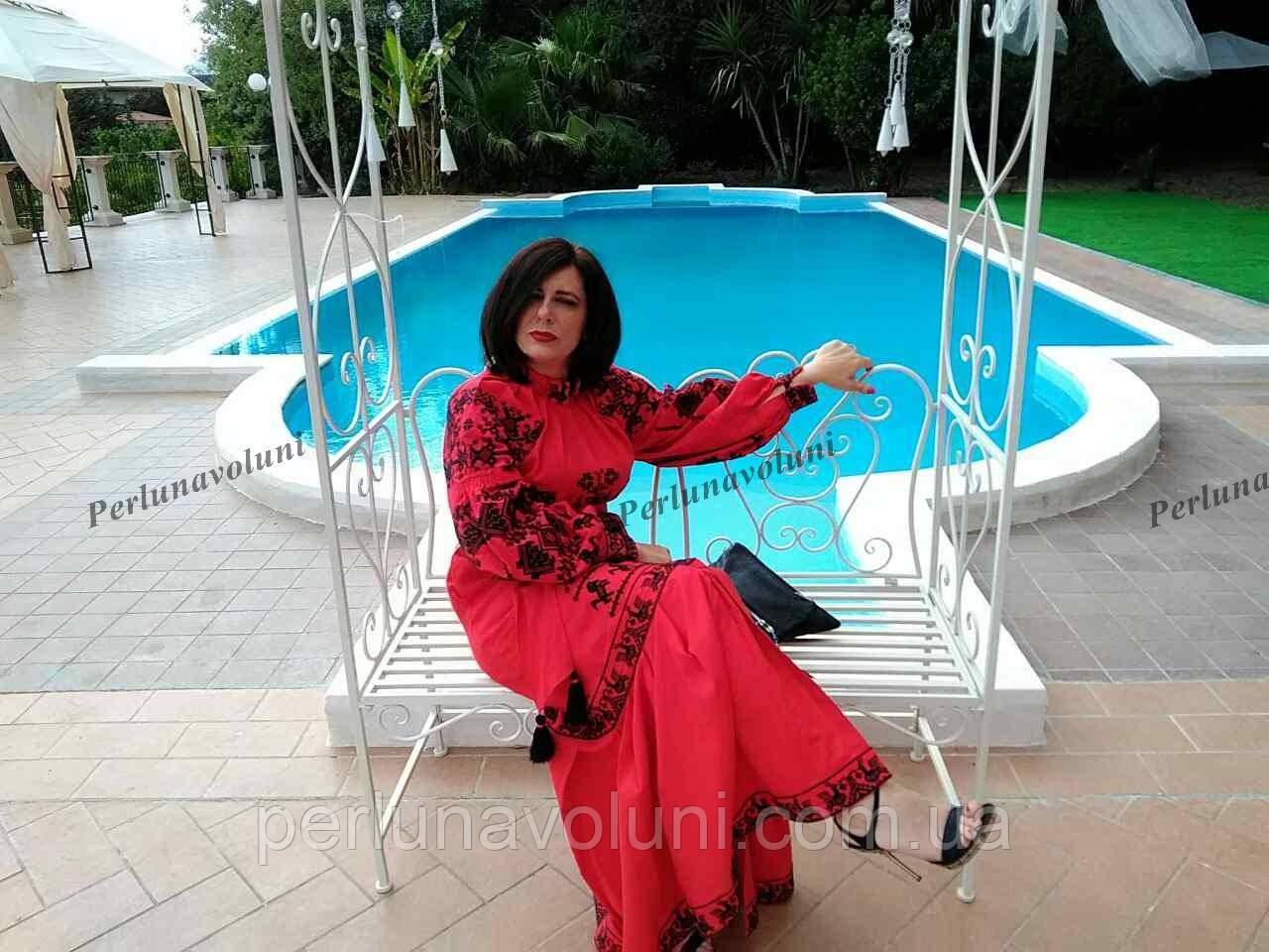 Платье с вышивкой 1112 03cf05d667380