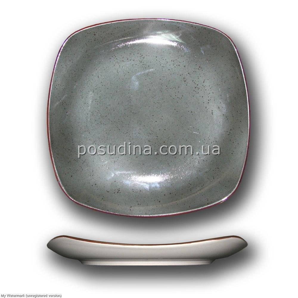 Квадратная тарелка Farn Siesta 240мм. Плутон