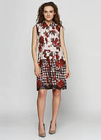 3003 Платье коричневое