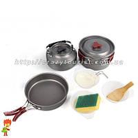 Набор туристической посуды 8 в 1 Milicamp AL-301