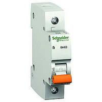 Автоматический выключатель Schneider Electric ВА63 1p 25А C 11205