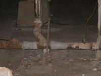 Герметизация старых труб