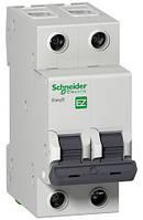 Выключатель автоматический Schneider Electric EASY9 2P C 6А EZ9F34206
