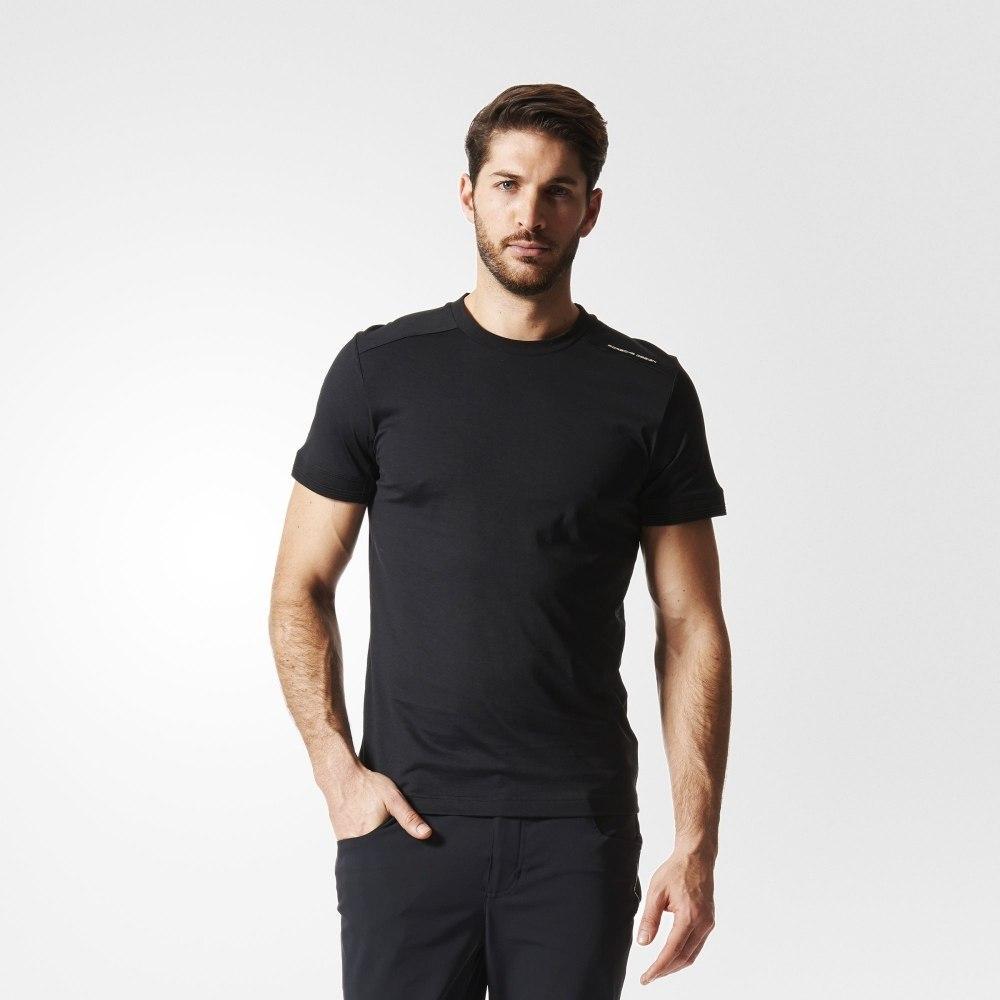 Футболка спортивная, мужская adidas Porsche Design Men's T-Shirt CORE TEE AI1578 адидас