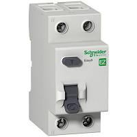 Дифференциальное реле (УЗО) Schneider Electric EASY9 2P AC 100mA 63А EZ9R54263