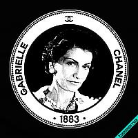 Аппликация, наклейка на ткань Gabrielle Channel [7 размеров в ассортименте]