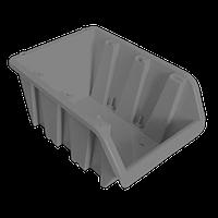 Контейнер вставной малый 160х100х85 мм Металлик