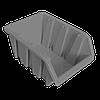 Контейнер вставной средний  230х160х120 мм Металлик