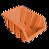 Контейнер вставной средний  230х160х120 мм Оранжевый