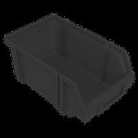 Контейнер модульный средний 230х150х125 мм Черный
