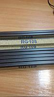 Порог  пробковый RG 108 Орех темный, фото 1