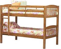 Детская двухъярусная кровать - трансформер из массива бука Буковина
