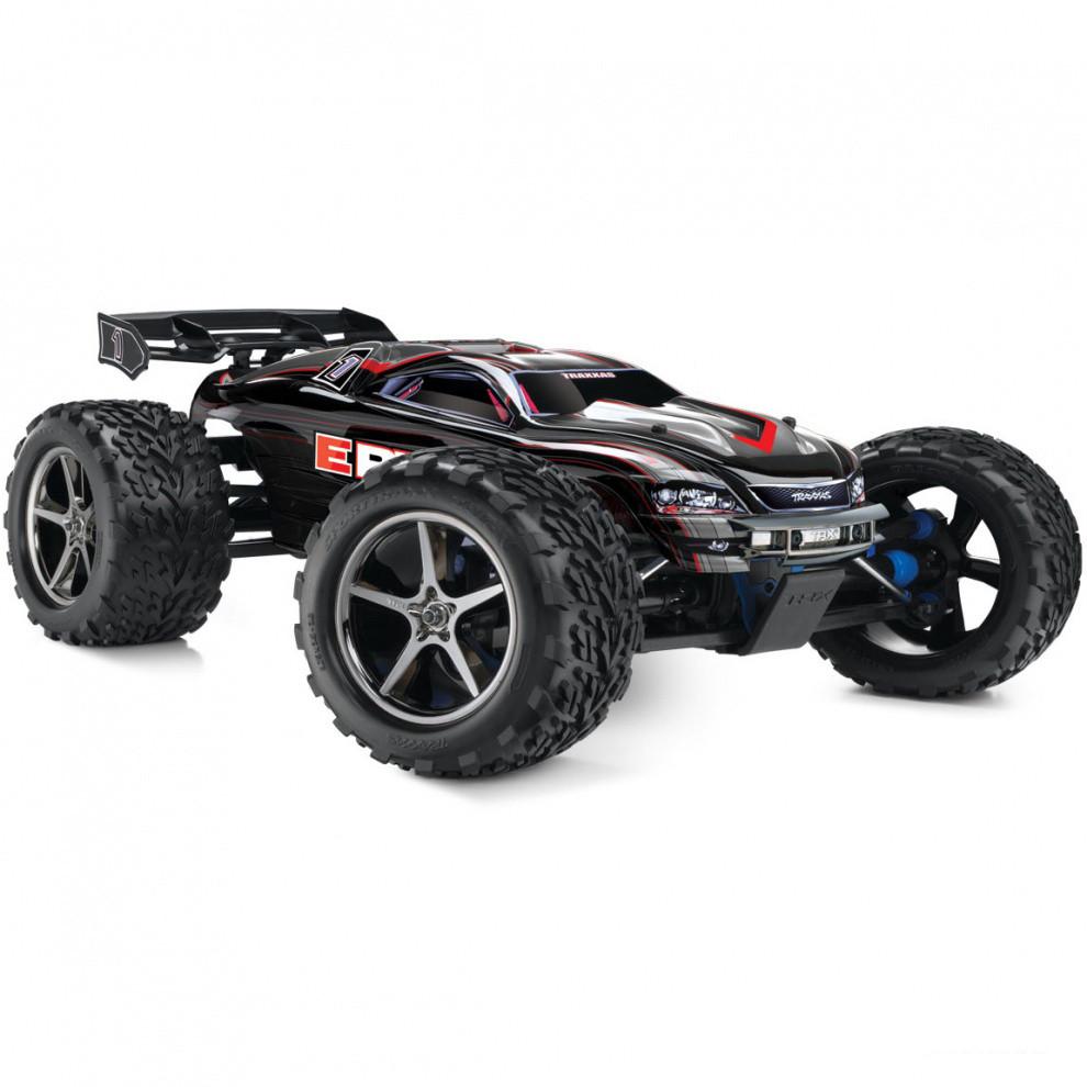 Автомобиль Traxxas E-Revo Monster 1:10 RTR 56036-1 Black