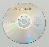 Диск DVD-R Verbatim 4.7GB 120min 16x