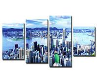 Картина современного дизайна Гонконг