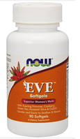 Витамины для женщин NOW Eve Women's Multivitamin 90softgel