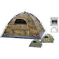 Палатка-автомат с автоматическим каркасом 4х местная