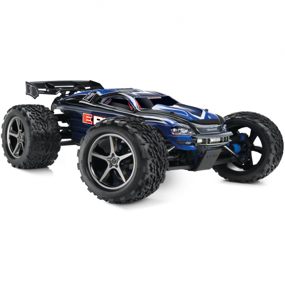 Автомобиль Traxxas E-Revo Monster 1:10 RTR 56036-1 Blue