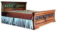 Спальня Эдельвейс ЮрВит (комплект) кровать 1.6
