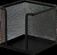 Бокс для бумаги, металлический, черный ВМ. 6215-01