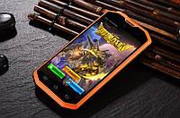 Защищеный смартфон Hummer H8, IP-68, GPS, 3G, 3000 мАч Orange