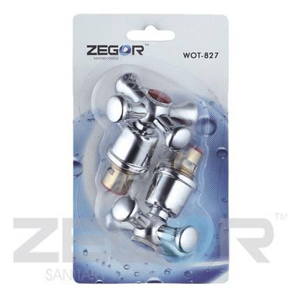 Букса +ручка ZEGOR (к-т) WOT-827, фото 2