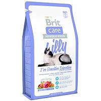 Brit Care (Брит кеа) Lilly Sensitive Digestion Гипоаллергенный корм для кошек с ягненком и лососем, 2 кг