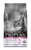 Pro Plan (Про План) Adult Delicate Turkey сухой корм для кошек с индейкой, 10 кг