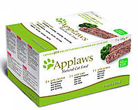 Applaws (Эплоус) Cat Pate MP Chicken, Lamb & Salmon мультипак с курицей, ягненком и лососем